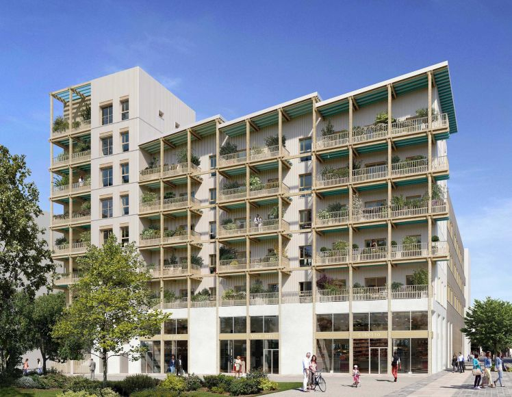 NANTES - RESIDENCE BE GREEN  - PINEL zone B1 - T2