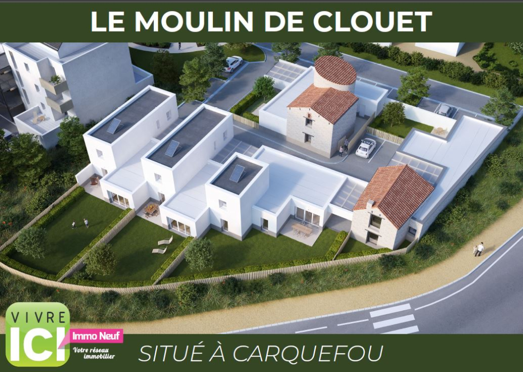 CARQUEFOU - LE MOULIN DE CLOUET - MAISON LOT 3